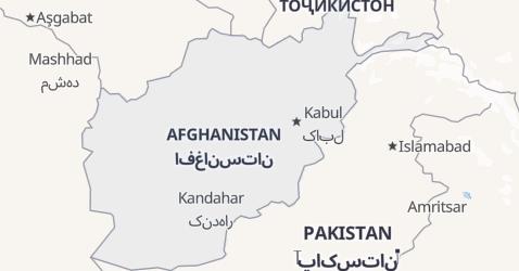 Mappa di Afghanistan