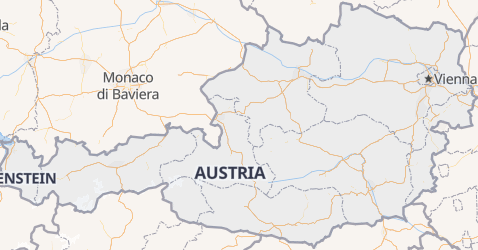 Mappa di Austria