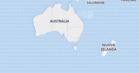 Mappa di Australia