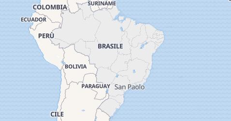 Mappa di Brasile