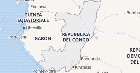 Mappa di Congo
