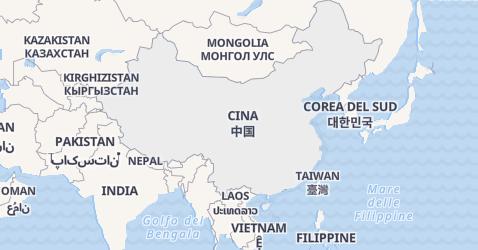 Mappa di Cina