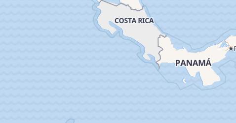 Mappa di Costa Rica