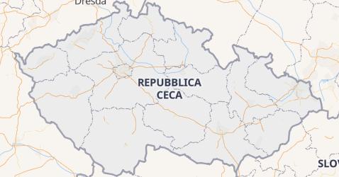 Mappa di Repubblica Ceca