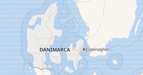 Mappa di Danimarca