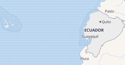Mappa di Equador