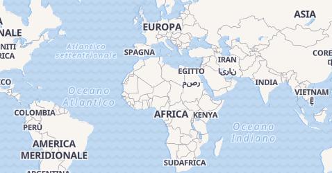 Mappa di Gran Bretagna
