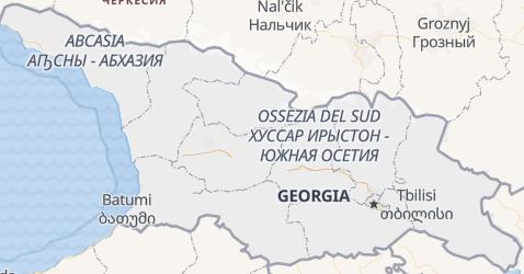 Mappa di Georgia