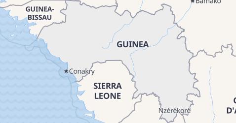 Mappa di Guinea Equatoriale