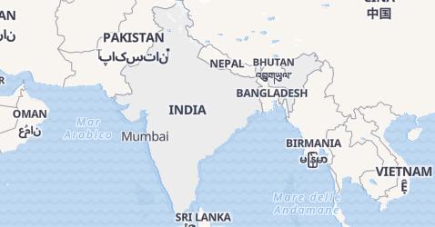 Mappa di India