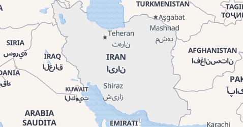 Mappa di Iran