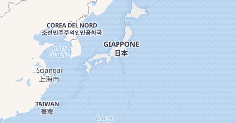 Mappa di Giappone