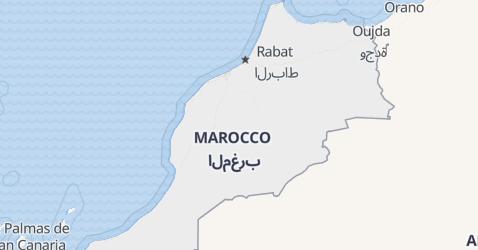 Mappa di Marocco