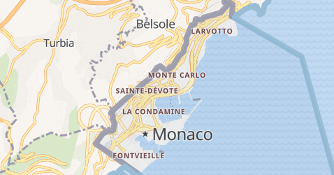 Mappa di Monaco