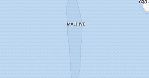 Mappa di Maldive