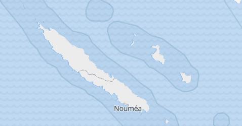 Mappa di Nuova Caledonia