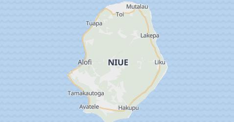 Mappa di Niue