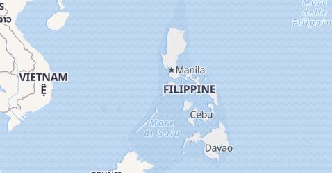 Mappa di Filippine