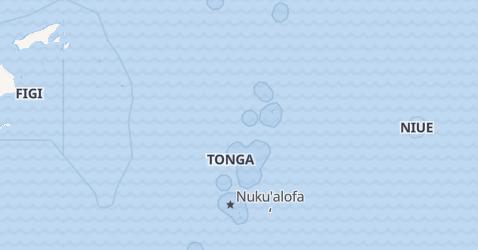 Mappa di Tonga