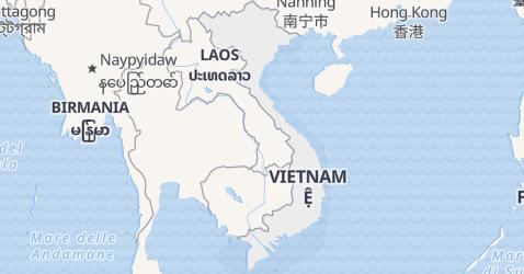 Mappa di Vietnam