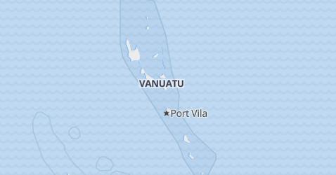 Mappa di Vanuatu