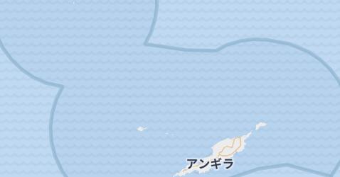 アンギラ(英)地図
