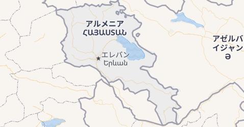 アルメニア共和国地図