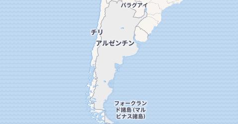 アルゼンティン地図