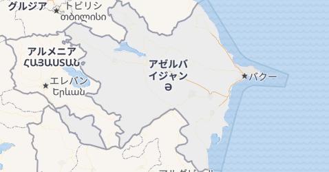 アゼルバイジャン共和国地図