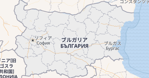 ブルガリア地図