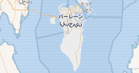 バハレーン地図