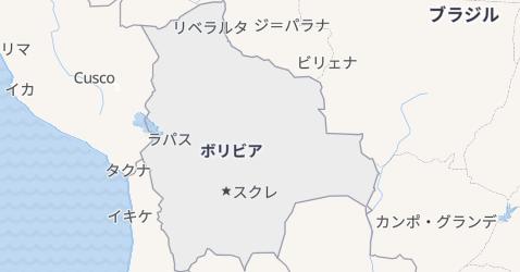 ボリヴィア地図