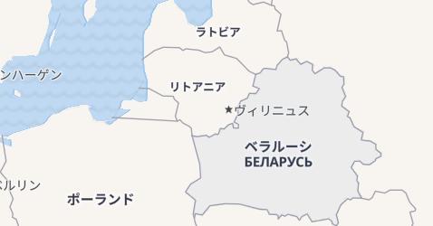 ベラルーシ共和国地図