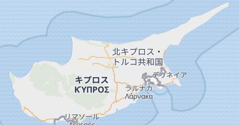 サイプラス地図