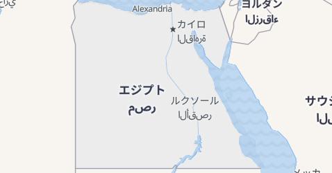 エジプト地図