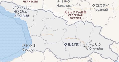 グルジア地図