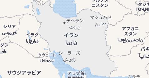 イラン地図