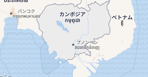 カンボディア地図