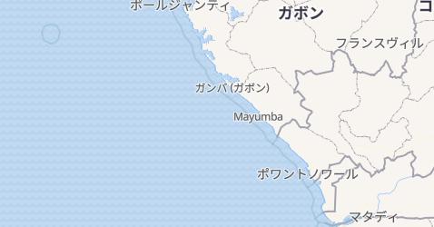 キリバス地図