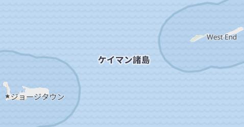 ケイマン諸島(英)地図