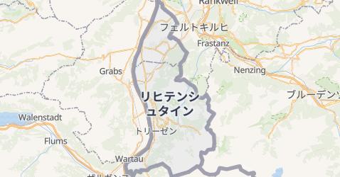 リヒテンシュタイン地図