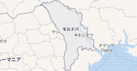 モルドヴァ共和国地図