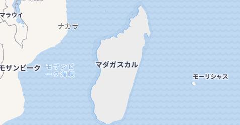 マダカスカル地図