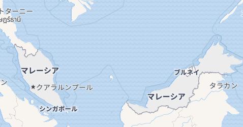 マレイシア地図