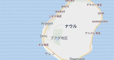 ナウル共和国地図