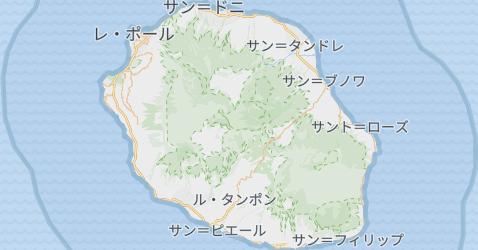 レユニオン地図