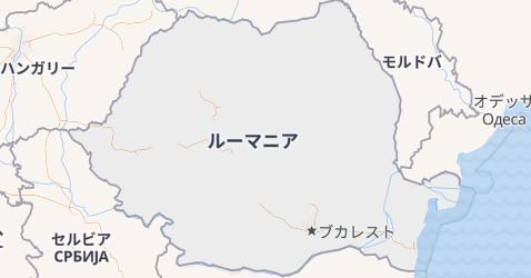 ルーマニア地図