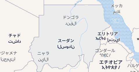 スーダン地図