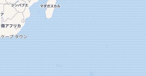 フランス領南方・南極地域地図