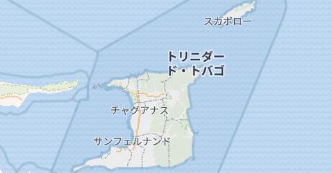 トリニダッド・トバゴ地図